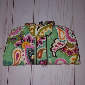 Vera Bradley Tutti fruitti kiss and snap wallet